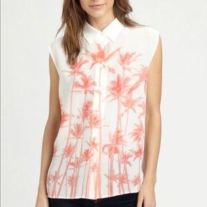 Equipment Diem sleeveless blouse size XS